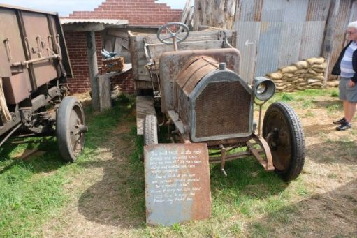 Great Dorset Steam Fair: Believed to be the oldest surviving First World War lorry.