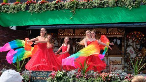 Great Dorset Steam Fair: The girls.