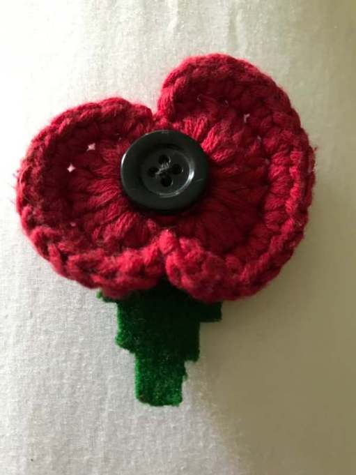 Remembrance Day: Knitted by Heather. Limited edition. 1,000.