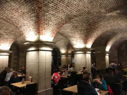 Remembrance Day: Lighting a Candle for Diddley - The Crypt Café. Best venue for apple crumble and custard in London.