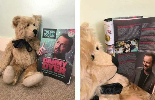 You're a Twat: Bertie reads the 2018 Christmas Special of Big Issue.