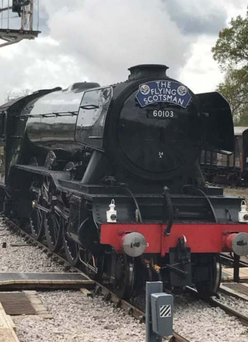 Flirting with GAD (Generalised Anxiety Disorder): The Flying Scotsman.