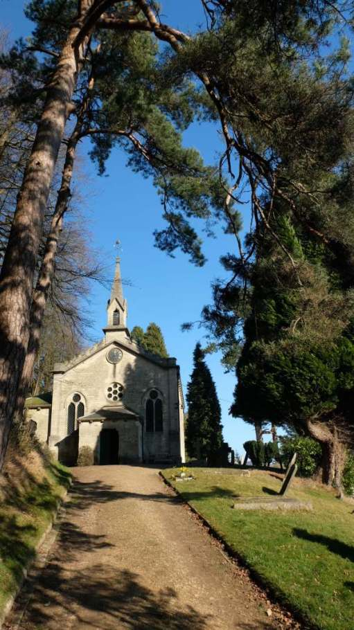 Cotswold Reverie: Holy Trinity Church, Slad.