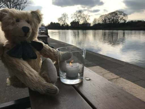 Finding Serenity: Lighting a Candle for Diddley at Kingston upon Thames.
