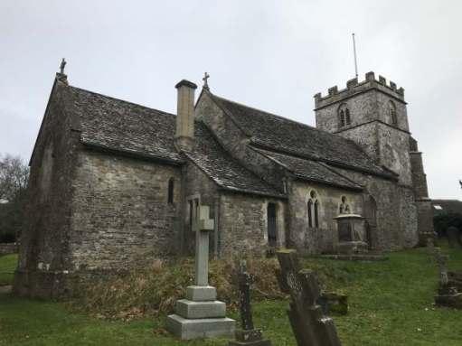Cotswold Reverie: St Andrew's Church, Miserden.