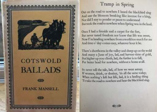 Cotswold Reverie: Tramp in Spring, Fank Mansell.