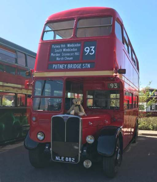 RT3775 NLE 882. Brooklands Museum Day. The 93. The bus Bobby spent more time on than any other.