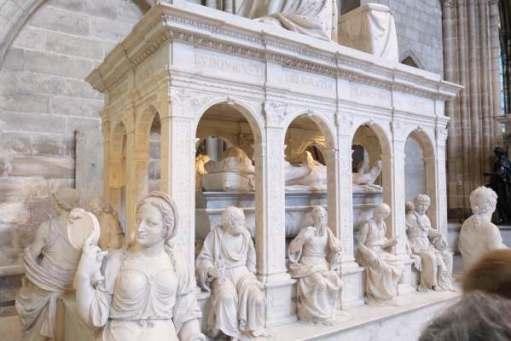 April in Paris: Burial Chamber in the Basilica of Saint-Denis.