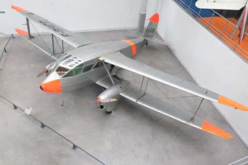 April in Paris; British! De Havilland Rapide.