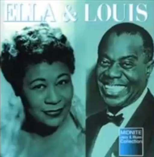 April in Paris: Ella Fitzgerald & Louis Armstrong.