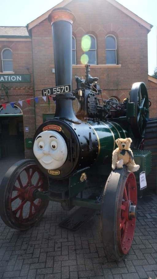 Trevor the Tractor (must tell Trevor the bear).