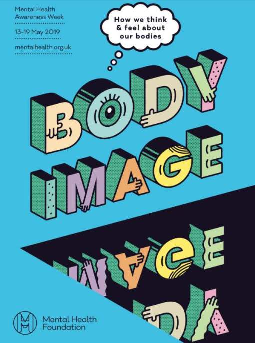 Poster: Body Image - How we think and fell about our bodies.