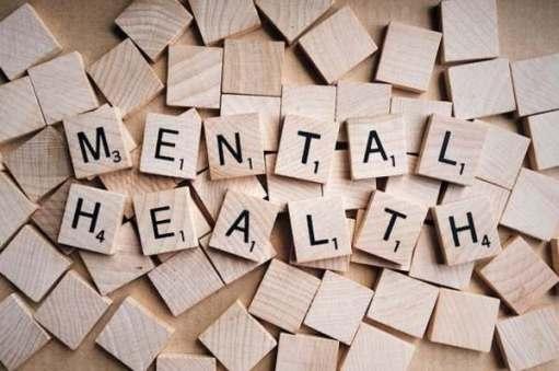 Mental Health spelt out in Scrabble letters.