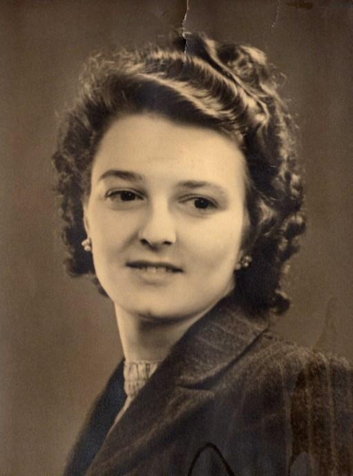 Head and shoulders photo of Bernard's mother, Doris Bruty.