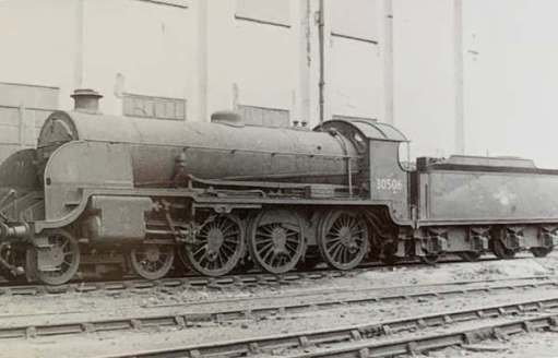 30506 as saved from the scrapyard.