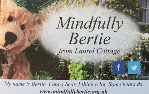 Mindfully Bertie Business Card.