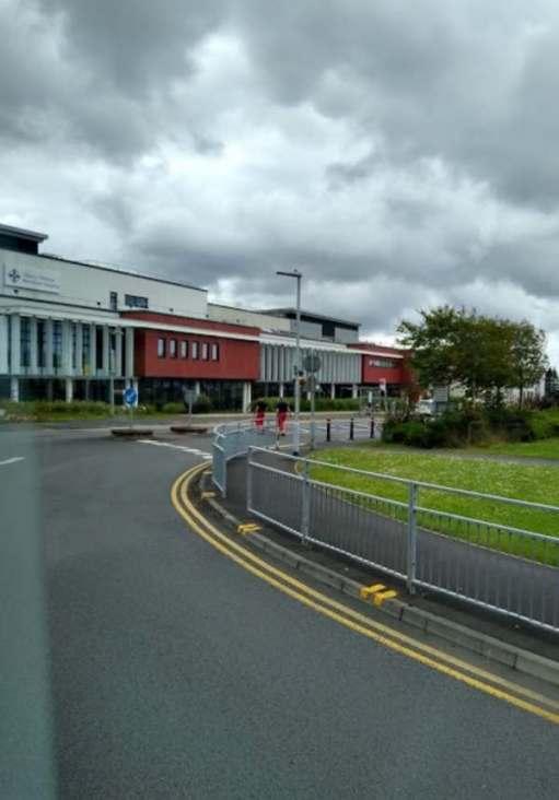 Morriston Hospital, Swansea.