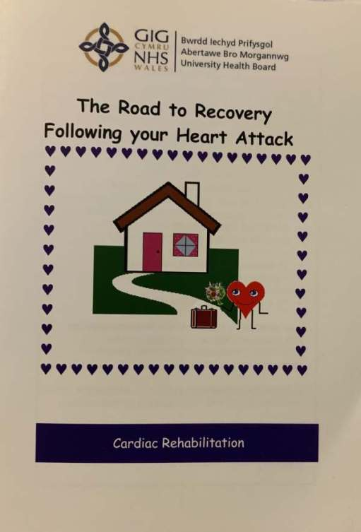 Leaflet: The Road to Recovery Following your Heart Attack.
