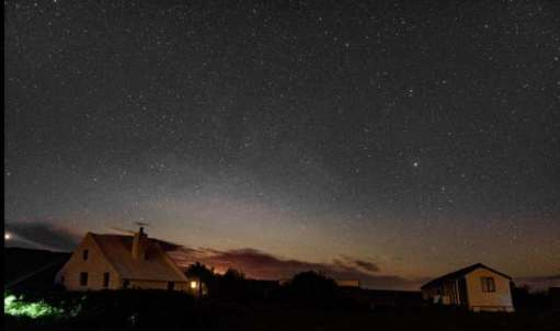 Lockley Cottage and the Milky Way.
