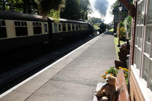 West Somerset Railway - Busy time at Crowcombe Heathfield.