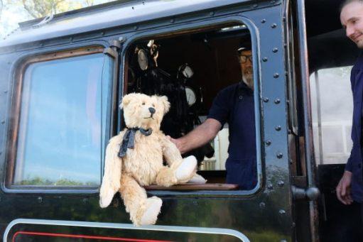 Bertie in the Cab Window of 53808.