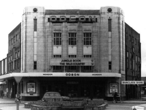 Exterior of the very grand Odeon, Morden.