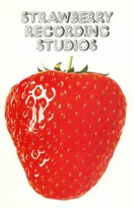 Strawberry Recording Studios logo.