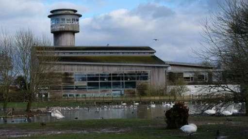 Slimbridge visitor centre.