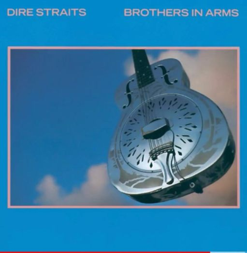 Album cover: Dire Straits, Brothers in Arms.