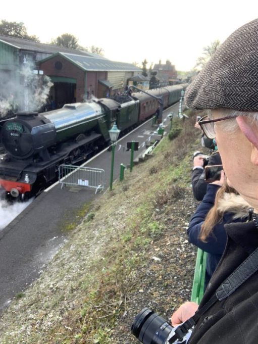 Ropley, Flying Scotsman.