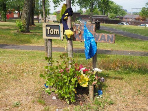 Memorial to Tom.