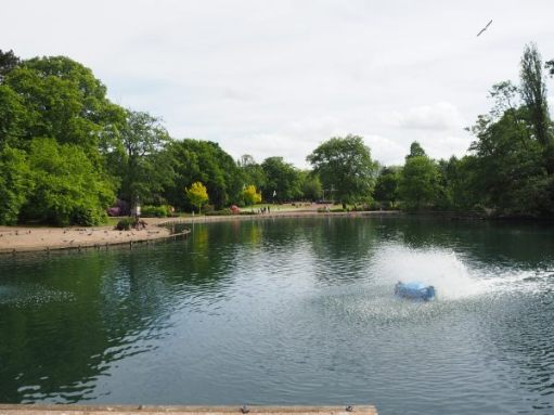 The Boating Lake, West Park, Wolverhampton.