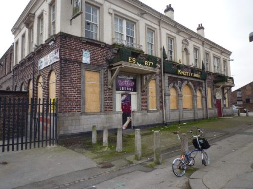 The former Knotty Ash Pub, Liverpool.