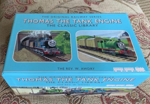Bobby's Thomas the Tank Engine Box Set.