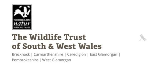 The Wildlife Trust of South and West Wales.