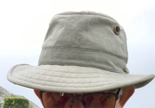 And the finest hat in the world… A Tilley.