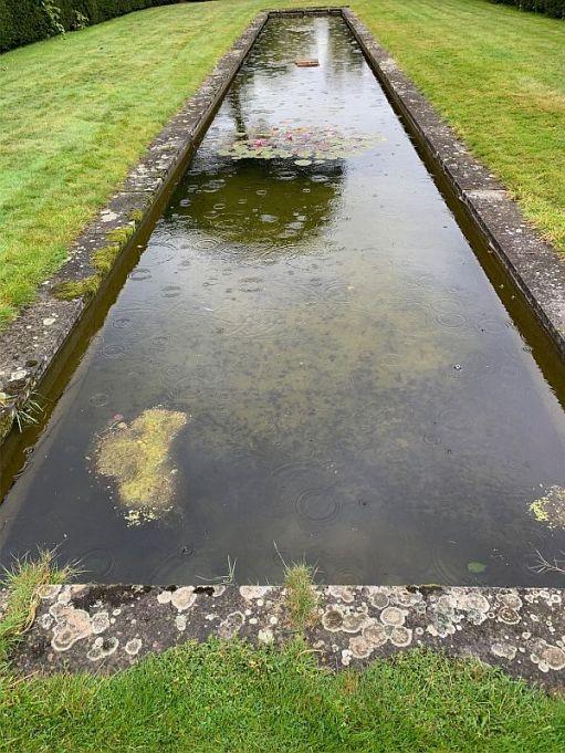 Ornamental pond at Dunsborough Park.