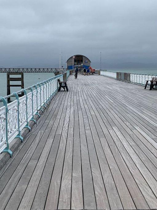 Mumbles Pier.