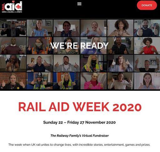 Rail Aid Week 2020.