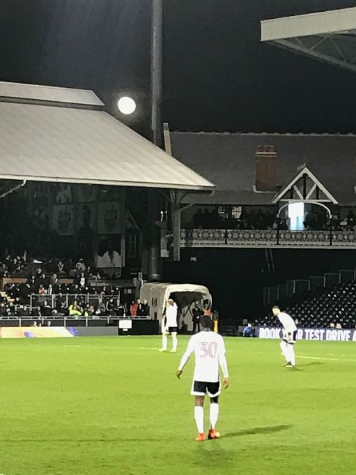 The actual Craven Cottage in one of the corners of the ground. The façade of the main stand along the road mimics the design.