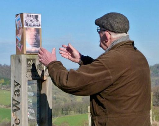Bobby at the Laurie Lee poetry post.