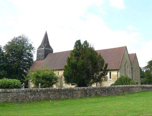 St James Church Abinger Common 2021.