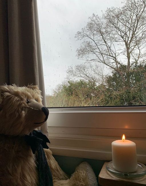 Sing Blackbird Sing - Bertie sat in the window with a candle lit for Diddley.
