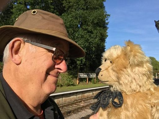 Second Tilley. Crowcombe Heathfield Station. West Somerset Railway. Bobby & Bertie.