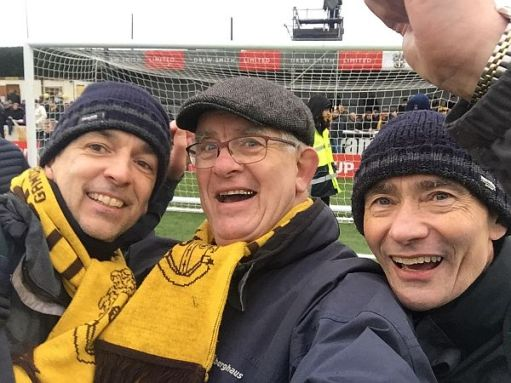 Sutton United. David, Andrew and Bobby… and 'At Par Excellence.