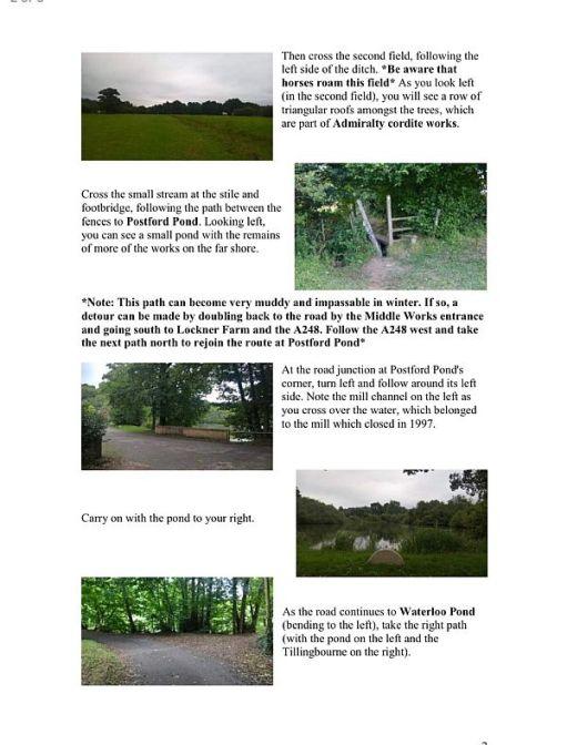 The Tillingbourne Trails - see link below.