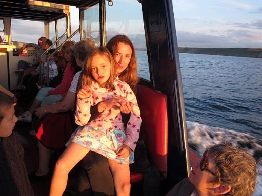 Boat trip from Whitby. August 2012.