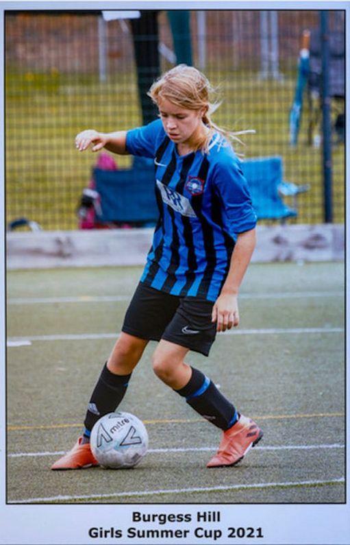 Burgess Hill Girls Summer Cup 2021.