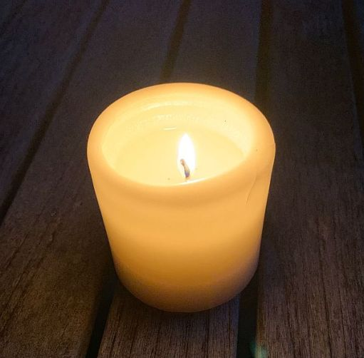 A candle lit for Diddley.