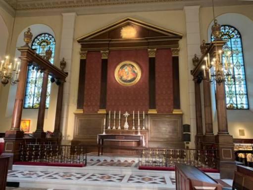Altar in St'Paul's Church - The Actors' Church.